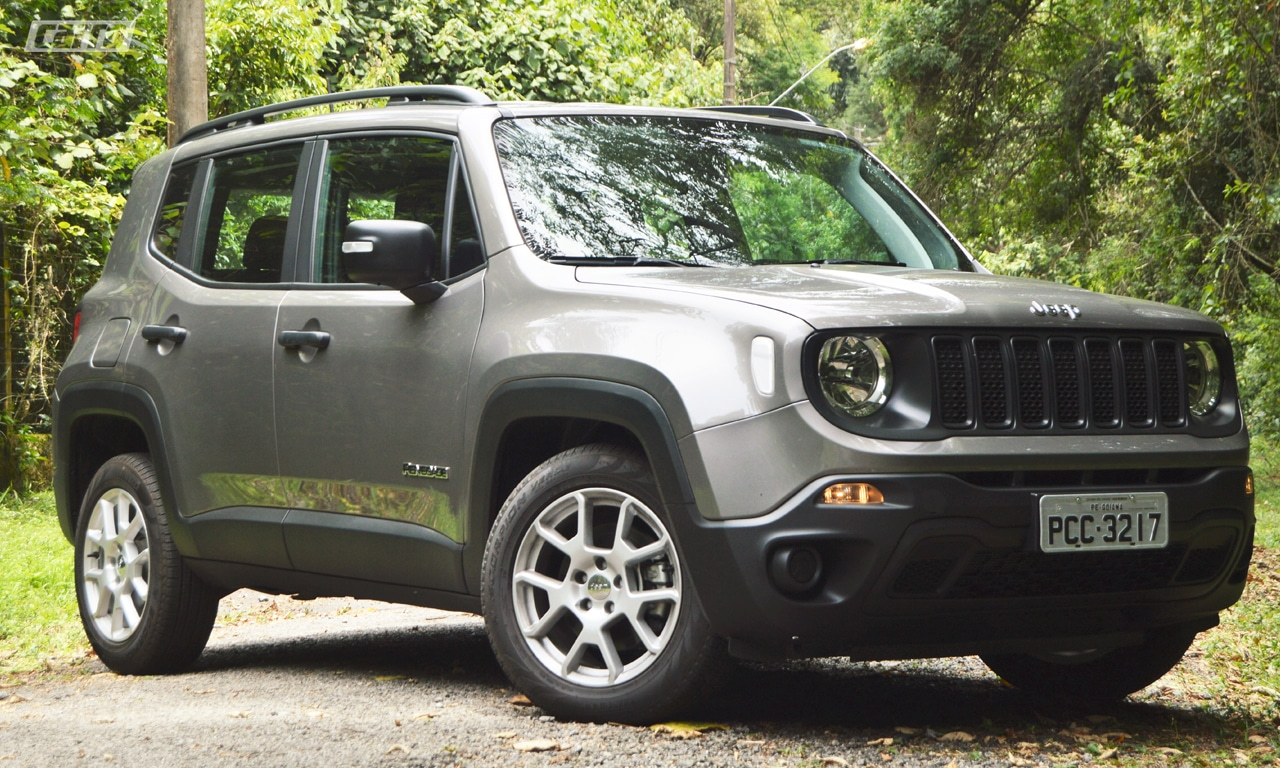 Jeep Renegade Sport 1 8 Flex At Visual Novo E Problemas Antigos