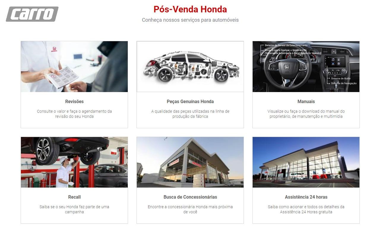 Honda pós-venda