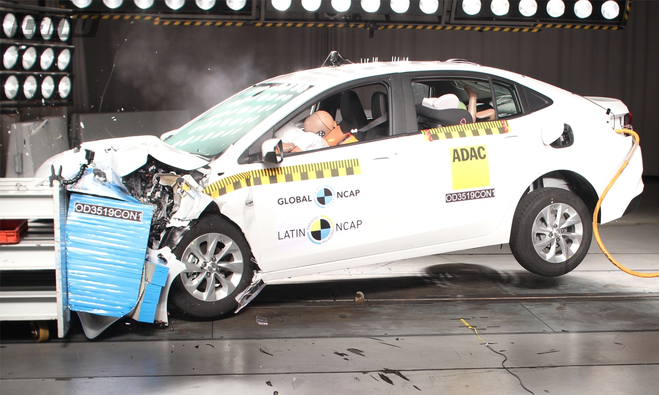 Chevrolet Onix Plus crash-test