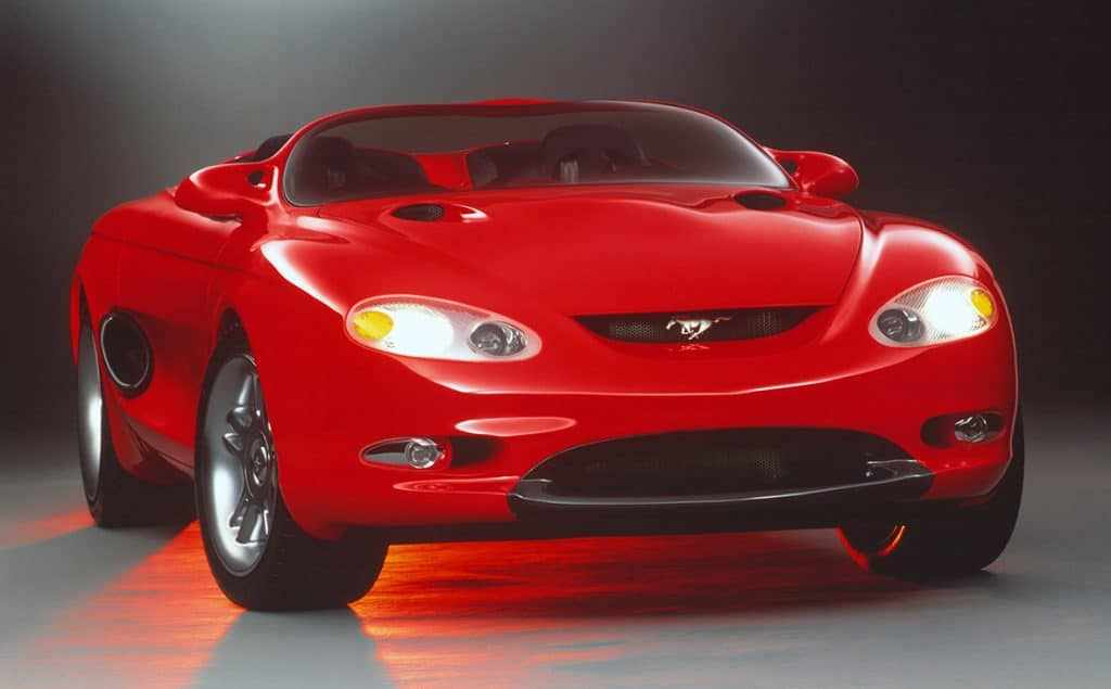 Ford Mustang Mach III concept 1992
