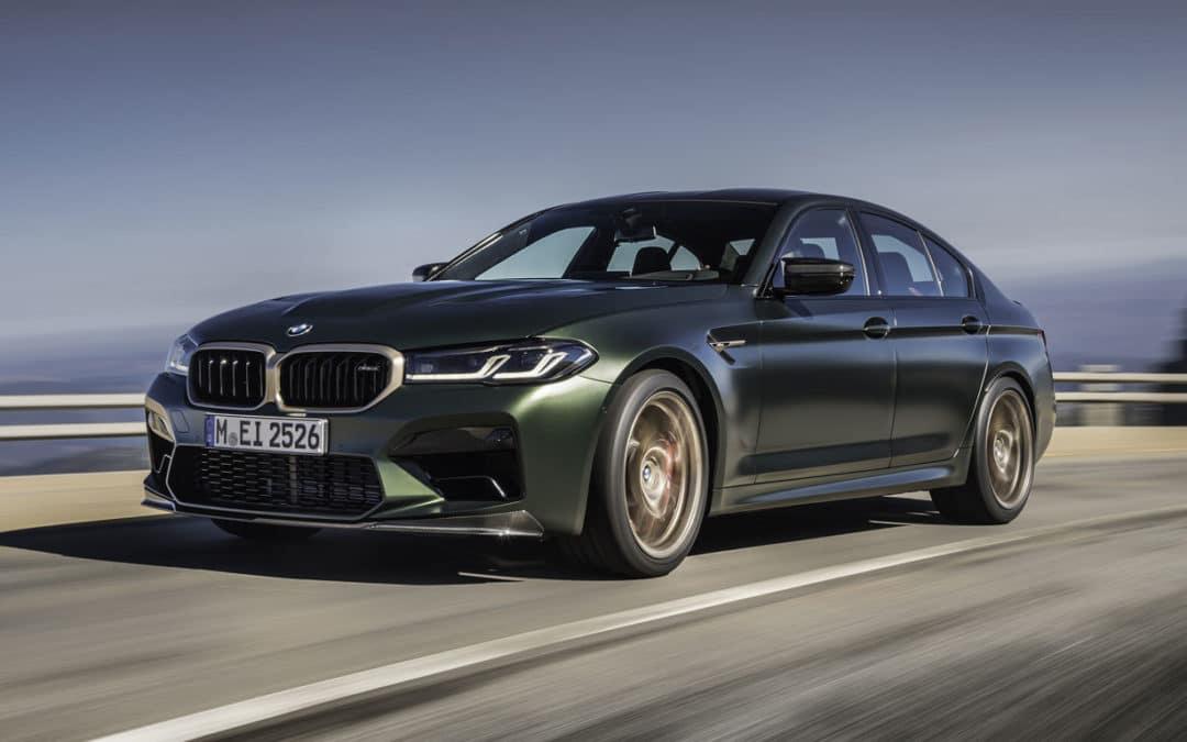 Com 635 cv, M5 CS é o BMW M mais potente da história