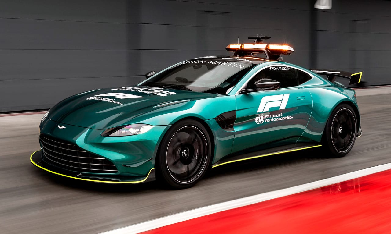 Aston Martin Vantage F1 Safety car 2021