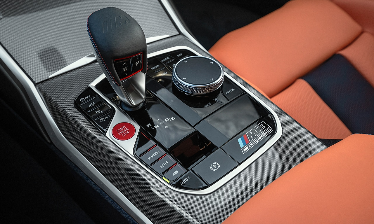 interior BMW M3 Competition